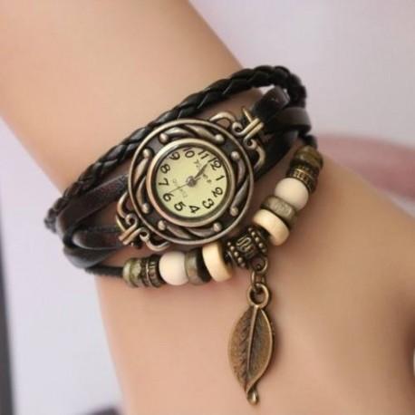 disfruta del precio de descuento profesional mejor calificado personalizadas Reloj pulsera vintage de cuero - Hispatronic